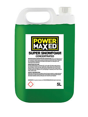 Power Maxed Super Snowfoam Concentrated 5 Litre