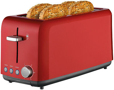 NEW Kambrook KTA140RED Toaster