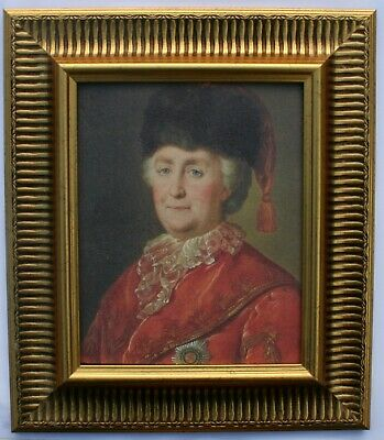 Catherine the Great   Framed Oleograph  515#G  Reproduction Picture , Art    .
