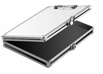 Vaultz Coaches Locking Storage Clipboard with Whiteboard for Letter Size ... New
