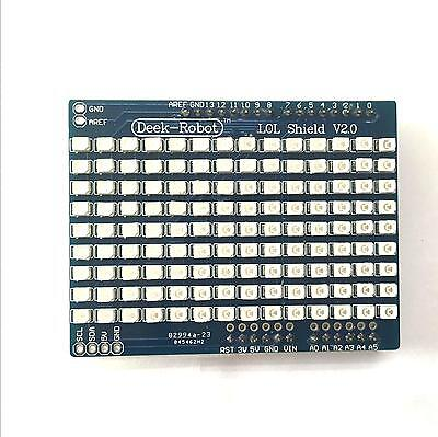 Generic Lol Shield Red - A Charlieplexed LED Matrix Kit for the Arduino - 1.5