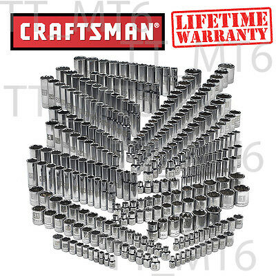 Craftsman 299-piece Ultimate Easy Read Deep Standard SAE Metric Socket Set