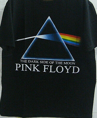 Pink Floyd - The Darkside Of The Moon - Black T-Shirts 100% Cotton