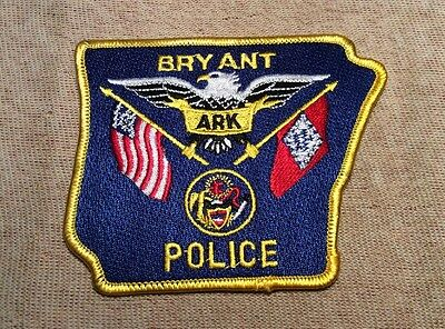 AR Bryant Arkansas Police Patch
