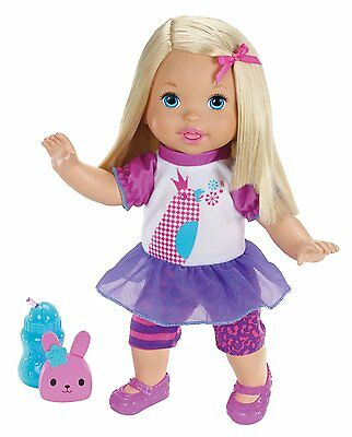 Little Mommy Talk with Me Repeating Doll (X2678) [This giggly toddler] BRAND NEW