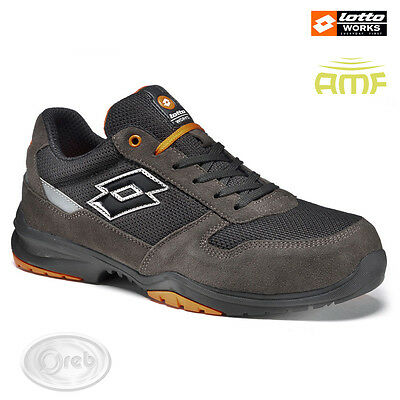 Safety Shoes Lotto Works Flex Ages 500 S1200 S1P Tip Aluminium