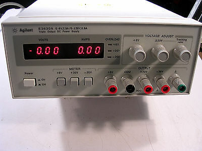 Agilent E3630A   Dc Power Supply Triple Output  Very Nice Manual Ope & Service