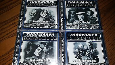 Throwback Oldscool Complete Set 1-4 All Double Cd Rare Import New Years Special