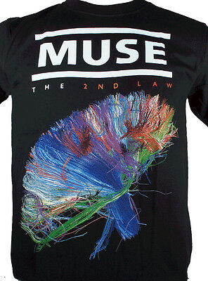 Muse - The 2Nd Law - Black Rock Band T-Shirts 100% Cotton