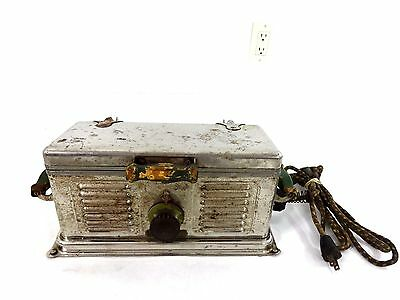 Vintage Rare 1920's C.w. Carter Mfg Co Electric Auto Grill For Bacon.