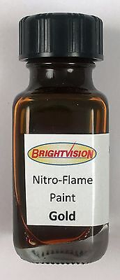 Brightvision GOLD Nitro-Flame Redline Restoration and Custom Paint - GOLD