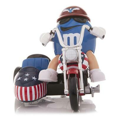 M&M's World Blue Character Motorbike Candy Dispenser new with Tags