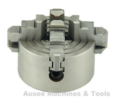 4-Jaw Independent Lathe Chuck ( 80mm / 100mm / 125mm )