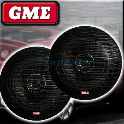 "GME SPK011 51/4"" 130mm FLUSH SPEAKERS PAIR CAR MARINE COAXIAL 2 WAY STEREO SYSTE"