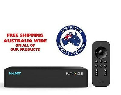 Hanet Play X One 4TB controlled by voice/app  free online songs update  FULL HD