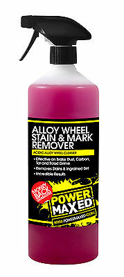 Power Maxed Alloy Wheel Stain & Mark Remover Concentrate 1 Litre