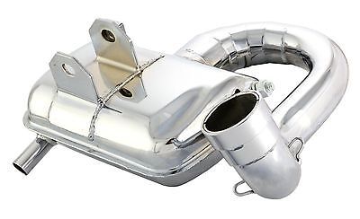 Vespa Px 200 Sip Road 2 Sport  Chrome Exhaust P200E Px200 Efl Disc