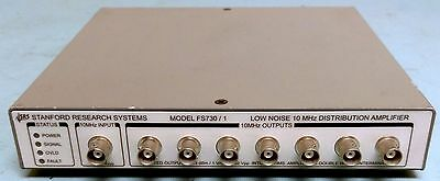 Stanford Research Systems FS730/1 Compact 7 Channel 10 MHz Distribution Amplifie