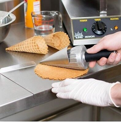 Waffle Forming Tool waffle cone 10 inch ice cream supplies concession