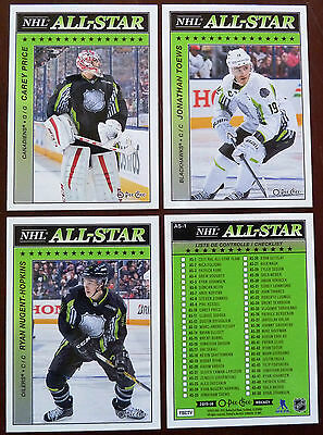 2015-16 O-Pee-Chee OPC NHL All-Star Insert / Pick 1 Card / Finish your Set