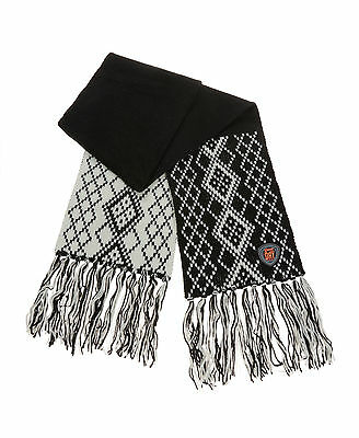 New Womens Superdry Nordic Scarf Black