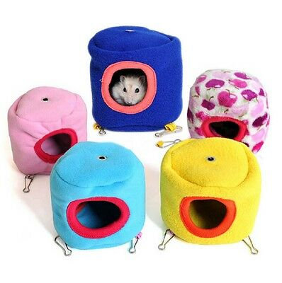 Hamster Cage Hanging Nest Bed House Small Pet Rat Squirrel Toy
