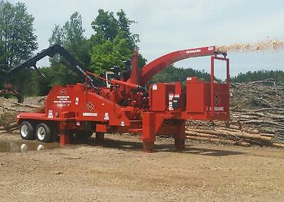 Morbark 50/48 Drum Chipper; 760 HP, 2004 Model