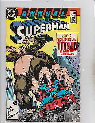 DC Comics! Annual Superman! Issue 1!