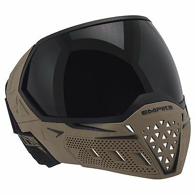 Empire EVS Thermal Mask / Goggle - Tan / Black - Paintball