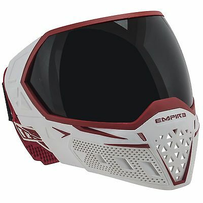Empire EVS Thermal Mask / Goggle - White / Red - Paintball