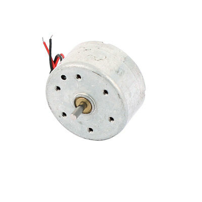 DC1.5-6V 1500RPM Speed 2 Wired Electric Mini Vibration Vibrate Motor 25x12mm
