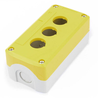 Waterproof 3 Button 22mm Dia. Hole Sealed Push Button Switch Control Station Box