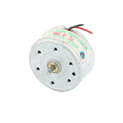 DC1.5-4.5V 1800RPM Speed 2 Wired Electric Mini Vibration Vibrate Motor 25x13mm