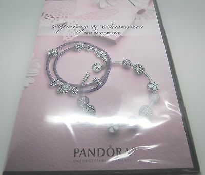 Authentic Pandora Spring & Summer 2014 In Store DVD Promo Display