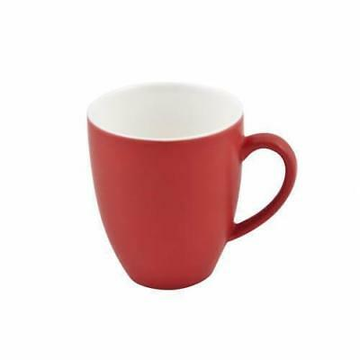 6x Mug Rosso Red 400mL Bevande Coffee Mugs Cups Hot Chocolate Cup Cafe