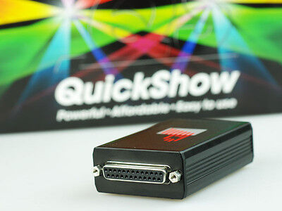 Pangolin Quickshow laser ILDA Software + FB3QS DAC NEW  IN OZ DISCOUNTED