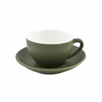 36x Cappuccino Cup & Saucer Set Sage Green 200mL Bevande Coffee Cups Tea Cafe