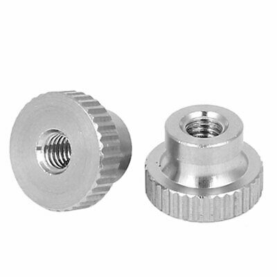 2 Pcs M8 304 Stainless Steel Metric Knurled Thumb Nuts for 3D Printer