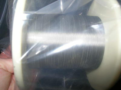 "Tungsten rhenium 97/3 wire sold BY THE FOOT 0.0012"" dia"