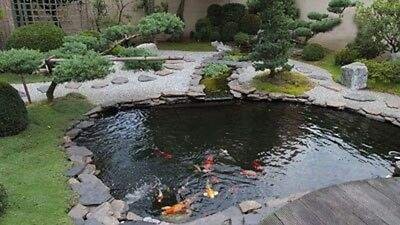 sundely Top Quality Garden Leakproof Pond Liner Lifetime Guarantee NEW