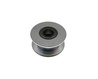 20mm ID No Tooth Aluminum Timing Dummy Pulley 5mm Bearing - Belt 6mm