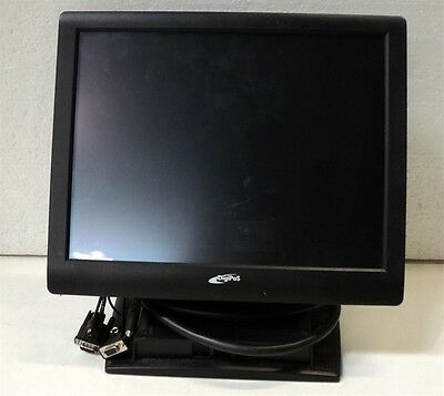 "DigiPoS 15"" Monitor TD1500 with Stand and Connection Cables/Ports,WARRANTY"