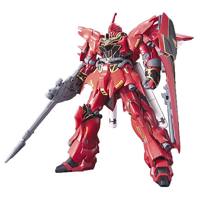 GUNDAM - 1/144 MSN-06S Sinanju Model Kit HGUC # 116 Bandai