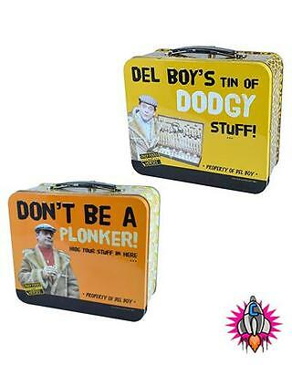 Only Fools And Horses Official Plonker Del Boy Dodgy Stuff Lunch Box Tote Tin