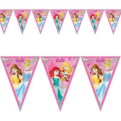 Disney Princess Birthday Party Flag Banner Bunting Party Decoration