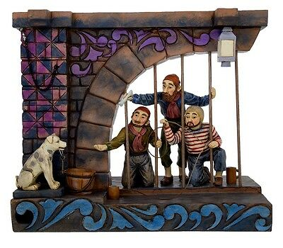 Disney Traditions Jim Shore Figure Pirates of the Caribbean Jail Scene New Box