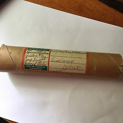 WWII Yard Long Air Craft Carrier Lot Of Three W/ Mailing Tube 1940's