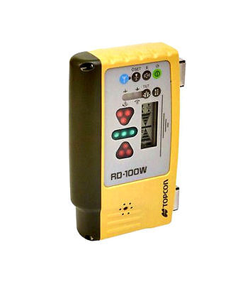 Topcon RD-100W Wireless Remote In Cab Display with Magnetic Mount