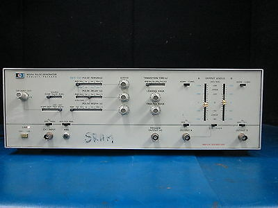HP Agilent Hewlett Packard 8015A Pulse Generator * passed Basic Functions Test *