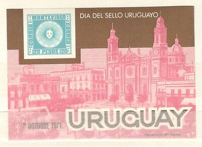 Uruguay Stamp Lot Scott 819 MLH Low Combined Shipping